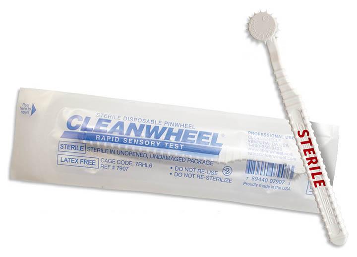 CLEANWHEEL Rapid Sensory Test Device